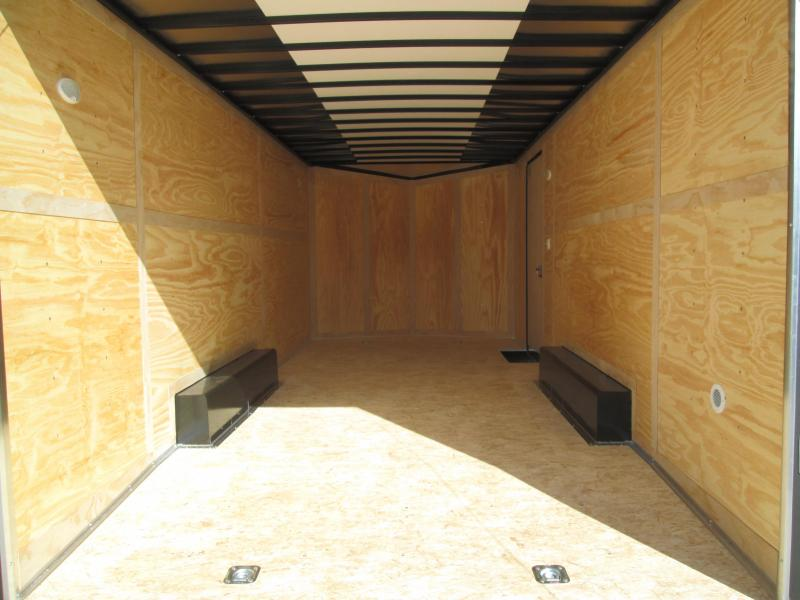 2022 8.5x20 10K Haul-About Cougar Enclosed Cargo Trailer. 007414