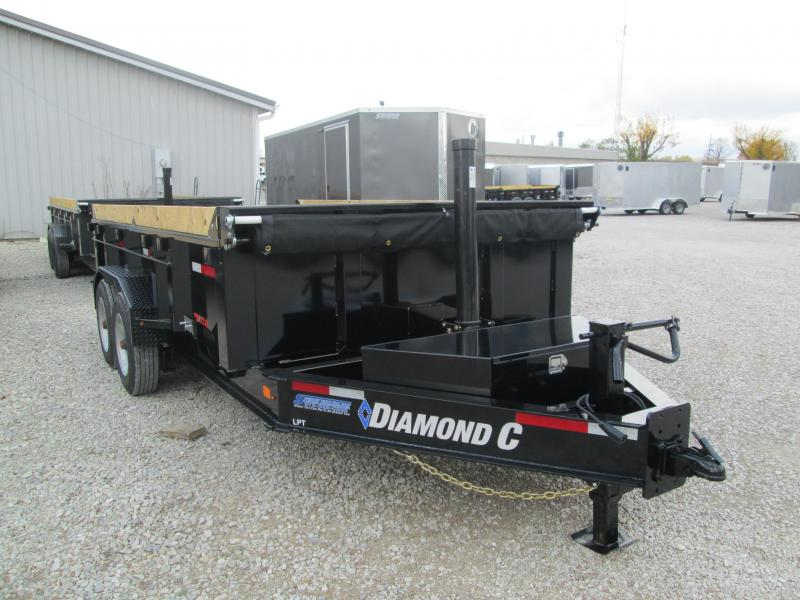 2021 14x81 18K Diamond C LPT208 Dump Trailer. 36081