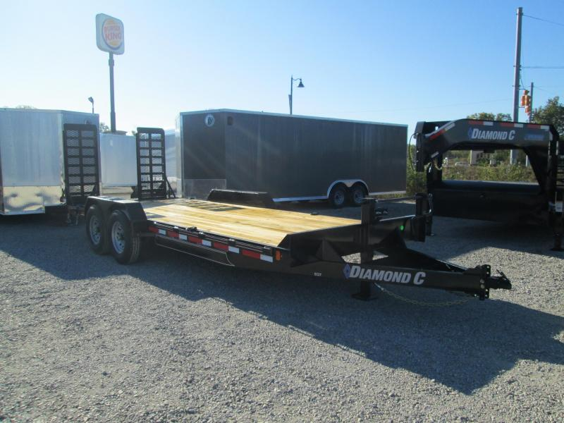 2021 18'+2' 14K Diamond C EQT207 Equipment Trailer. 35511