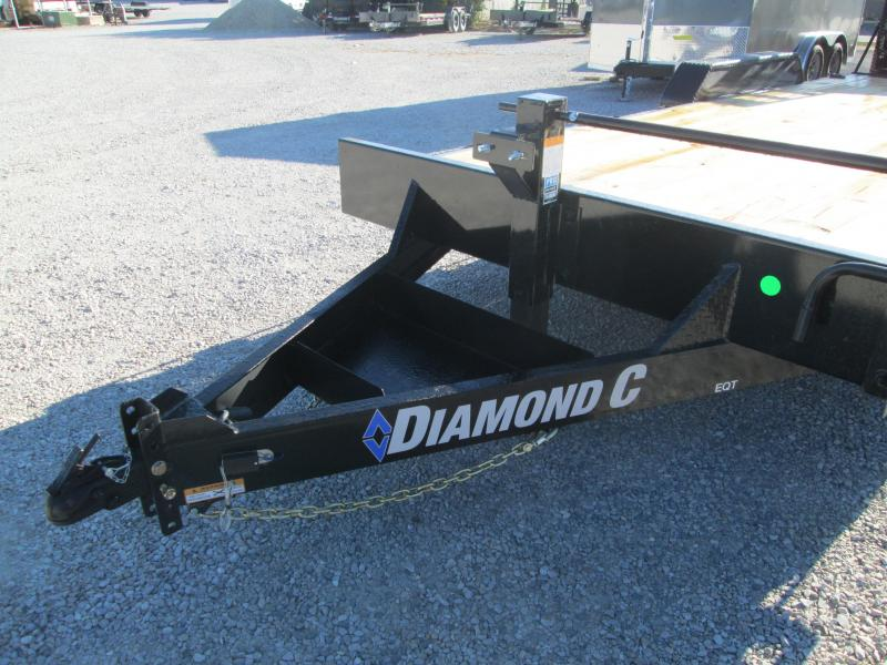 2021 18'+2' 14K Diamond C EQT207 Equipment Trailer. 35511