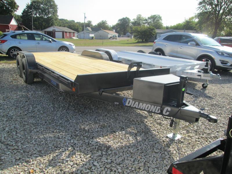 "2021 20'x82"" 10K Diamond C Full Deck Tilt Car / Racing Trailer. 34443"