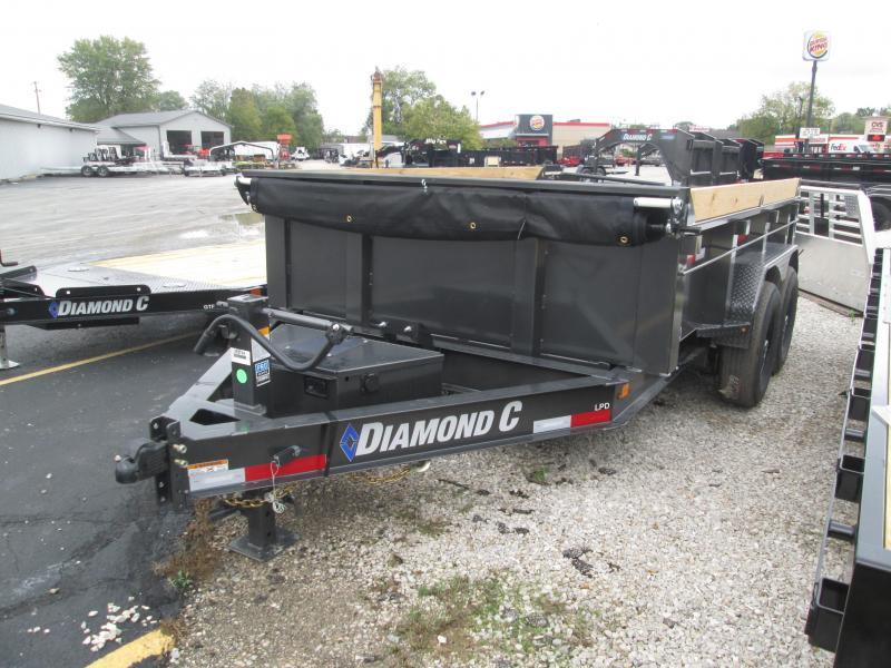 2022 12x82 14.9K Diamond C LPD207 Dump Trailer. 52794