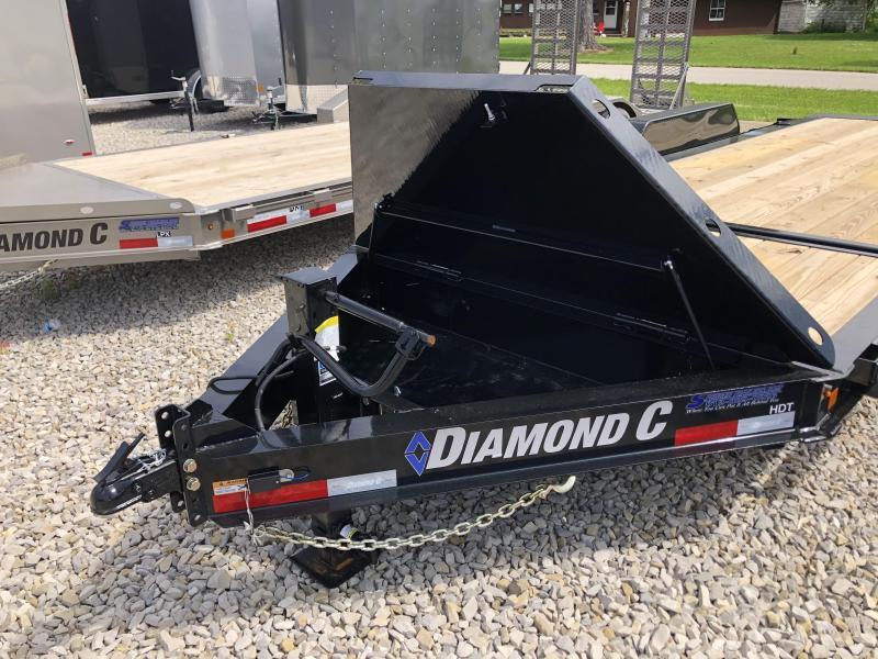 2020 16+4x82 14.9K Diamond C HDT207 Equipment Trailer. 27942