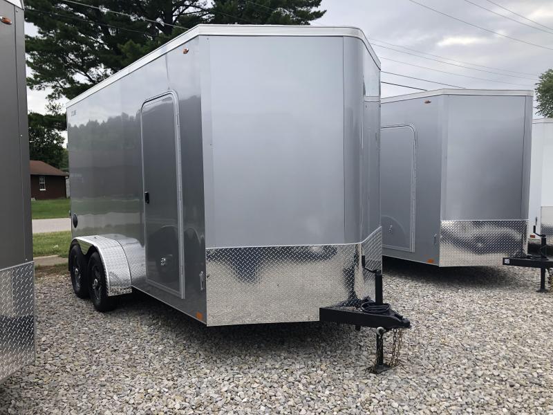 2021 7x14+V-Nose 7K Legend CYCLONE Enclosed Cargo Trailer. 17794
