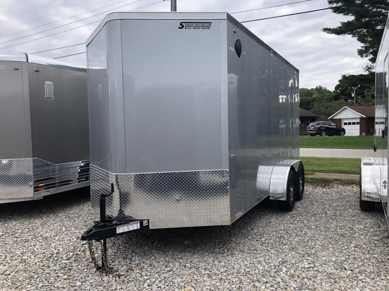 2021 7x14+V-Nose 7K Legend CYCLONE Enclosed Cargo Trailer. 17794