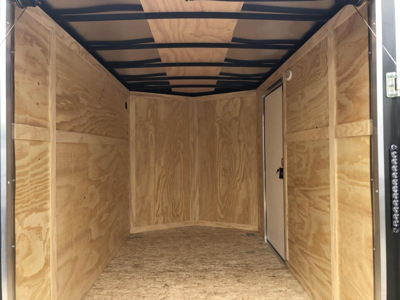 2021 6x10 Darkhorse Enclosed Cargo Trailer. 1790