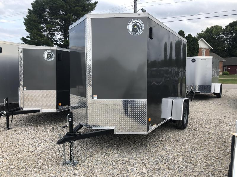 2021 6x10 Darkhorse Enclosed Cargo Trailer. 1790