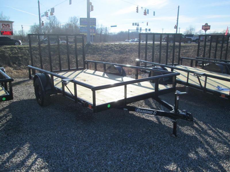 2021 12x77 Diamond C GSA135 Utility Trailer. 40957