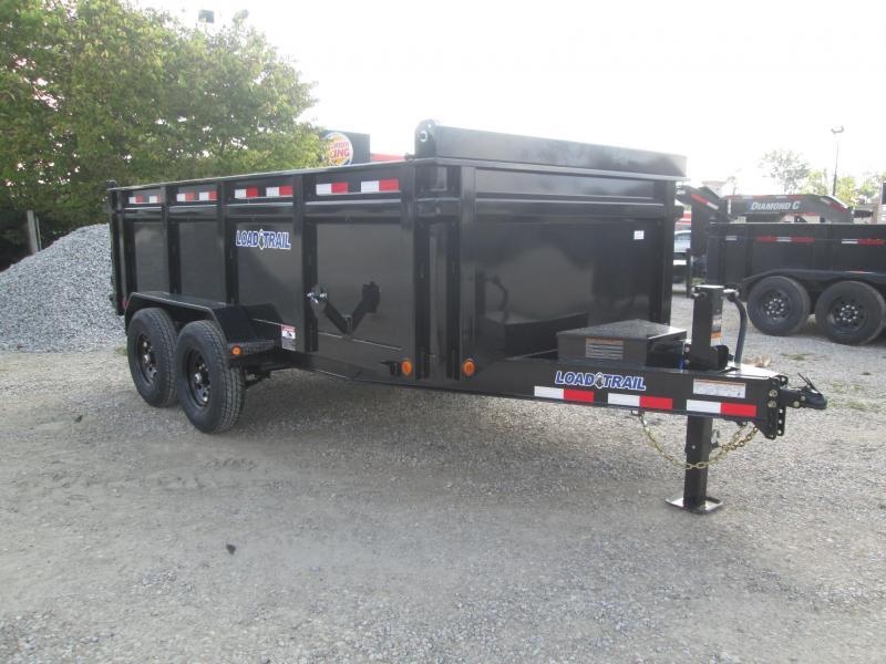 2022 83x14 14k Load Trail Dump Trailer. 51750