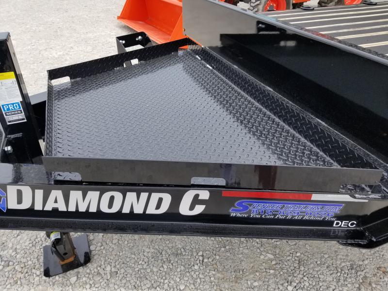 2020 20+4x102 14.9K Diamond C DEC207 Equipment Trailer. 28009