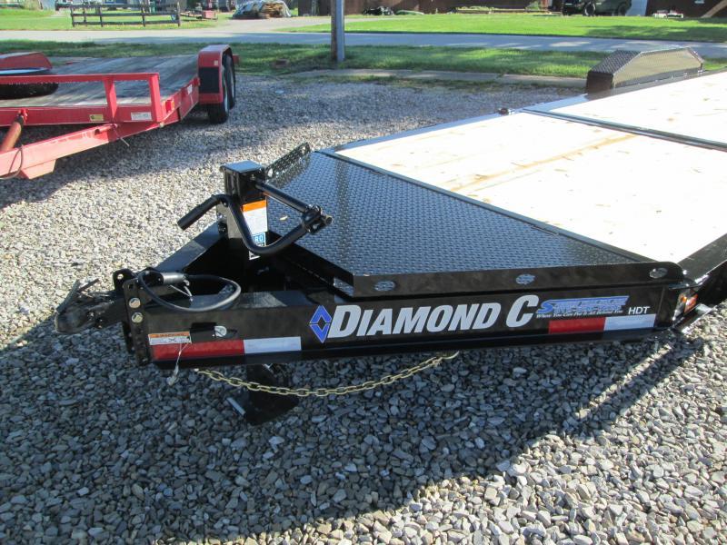 """2021 16'+6'X82"""" 14.9K Diamond C HDT 207 Equipment Trailer. 46443"""