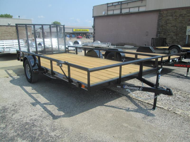 2020 14x83 Diamond C GSA135 Utility Trailer. 33217