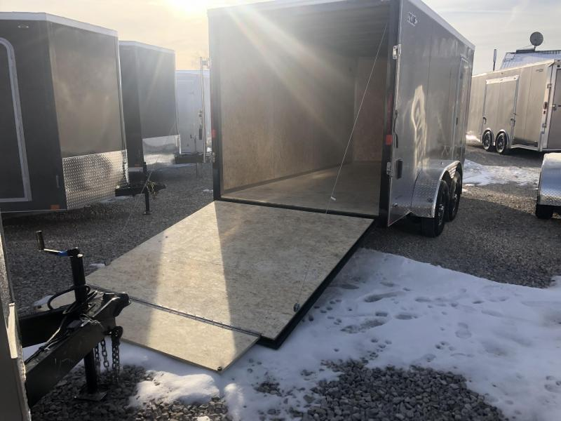 Looking for a better trailer? 2020 LEGEND Cyclone STV 7x14 plus V-nose Enclosed Cargo Trailer. 17074