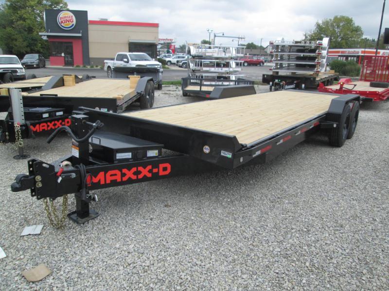 2022 24' 17.5K MAXXD T8X Tilt Equipment Trailer. 87790