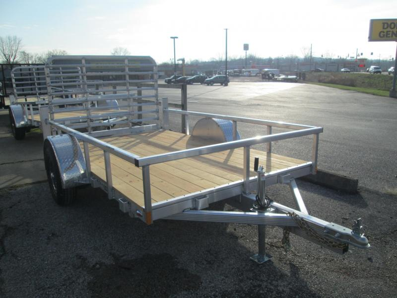 2021 LEGEND Open Deluxe Utility Trailer. 17618