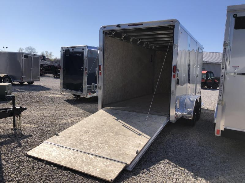 2021 7'x14'+3'V-Nose 7K Legend DVN Enclosed Cargo Trailer. 17751