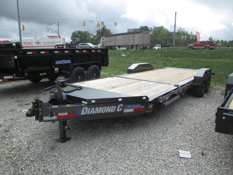 2022 16+6x82 14.9K Diamond C HDT207 Equipment Trailer. 51188