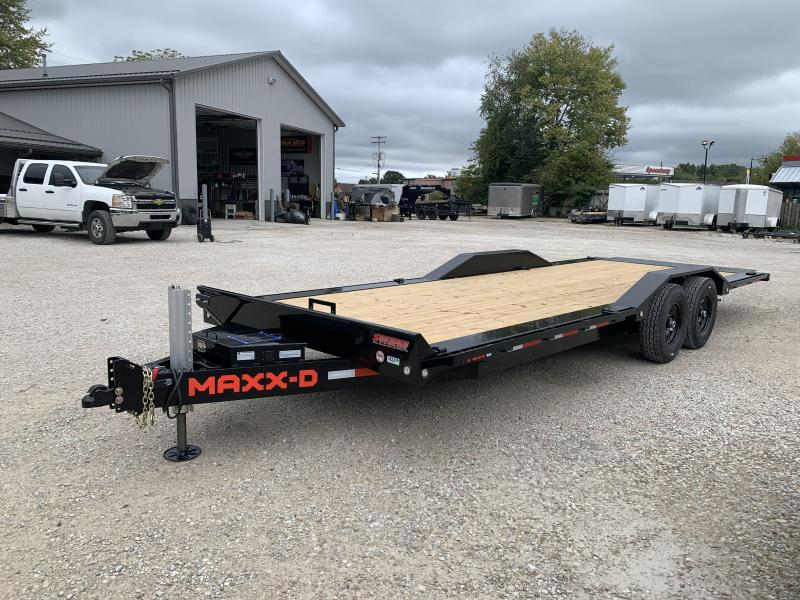 2022 24x102 14K MAXXD T6X Tilt Equipment Trailer. 87789