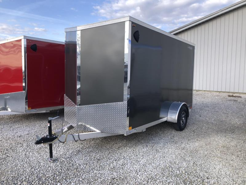 2021 6x12+V-Nose Legend Explorer Enclosed Cargo Trailer. 17136