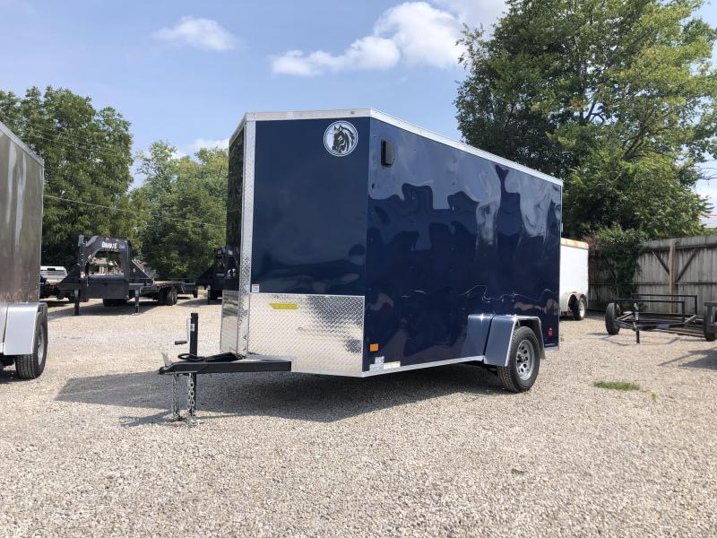 2021 6x12 Darkhorse Enclosed Cargo Trailer. 1788