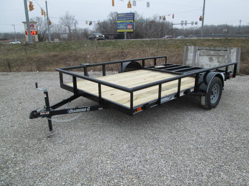 2021 12X83 Diamond C  GSA135 Utility Trailer. 40885