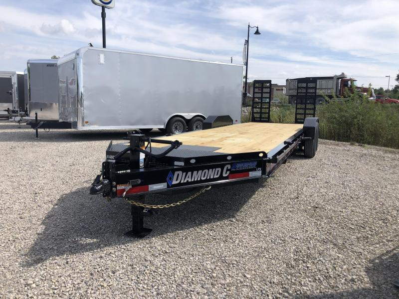 "2021 24'+2'x82"" 14.9K Diamond C LPX207 Equipment Trailer. 34147"