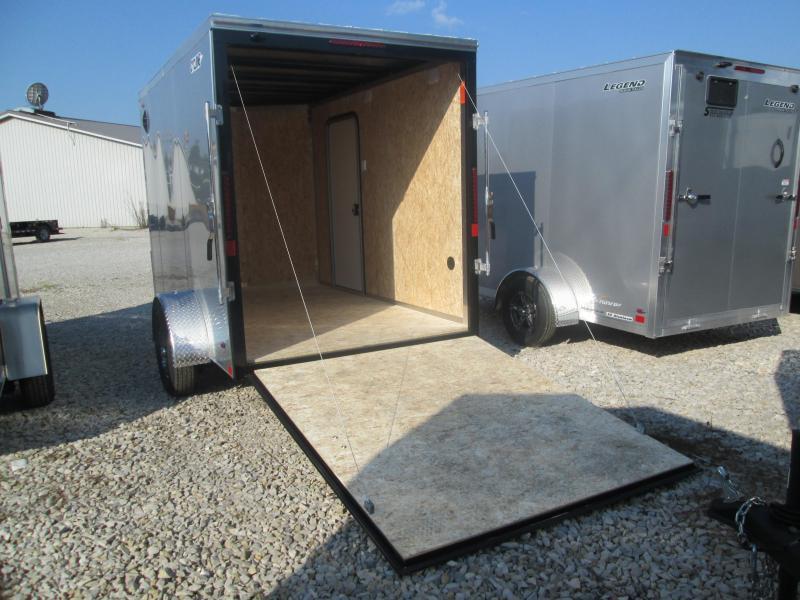 2021 6x10+V-Nose Legend STV Enclosed Cargo Trailer. 17610