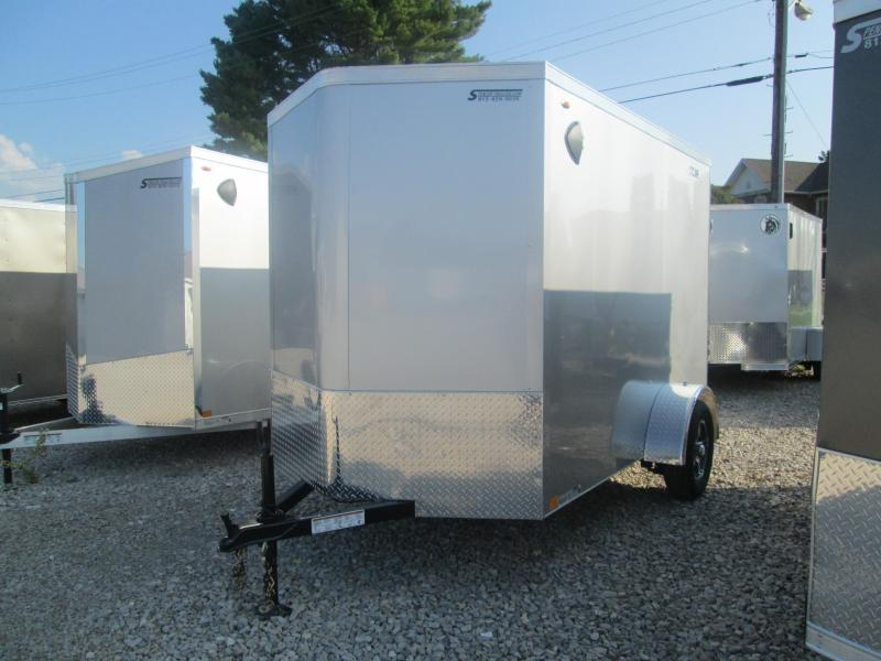 2021 6x10+V-Nose Legend STV Enclosed Cargo Trailer. 17610
