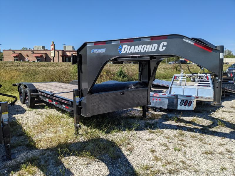 2021 Diamond C Trailers HDT 208 Equipment Trailer