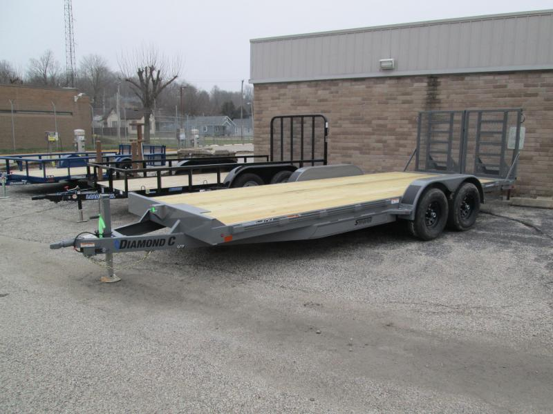 2021 20x82 Diamond C GTF252 Equipment Trailer. 39900