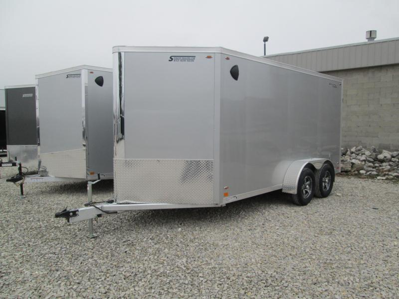 2021 14'+V-Nose 7K Legend FTV Enclosed Cargo Trailer. 317505