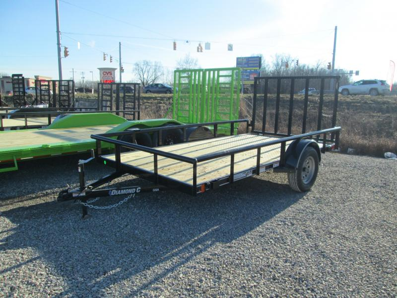 2021 12x77 Diamond C Utility Trailer. 40880
