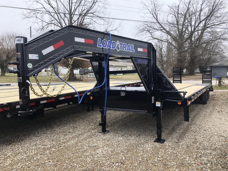 "2020 32'x102"" 24K Load Trail Gooseneck Equipment Trailer. 99115"