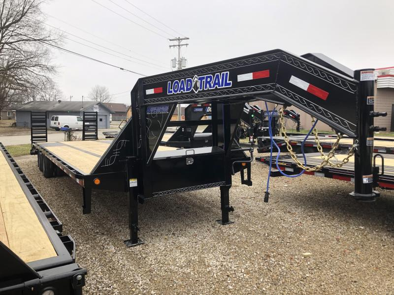 """2020 32'x102"""" 24K Load Trail Gooseneck Equipment Trailer. 99115"""
