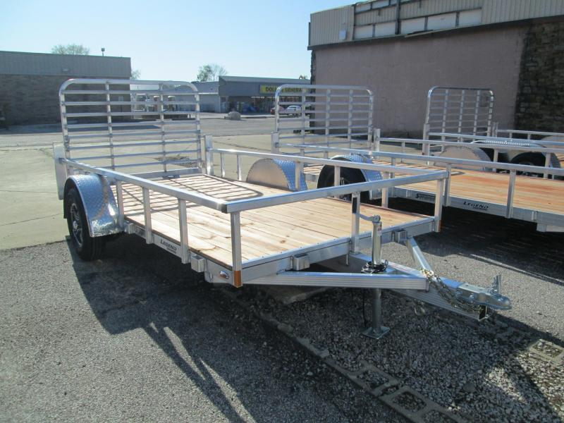 2021 6x12 Legend Utility Trailer. 17260