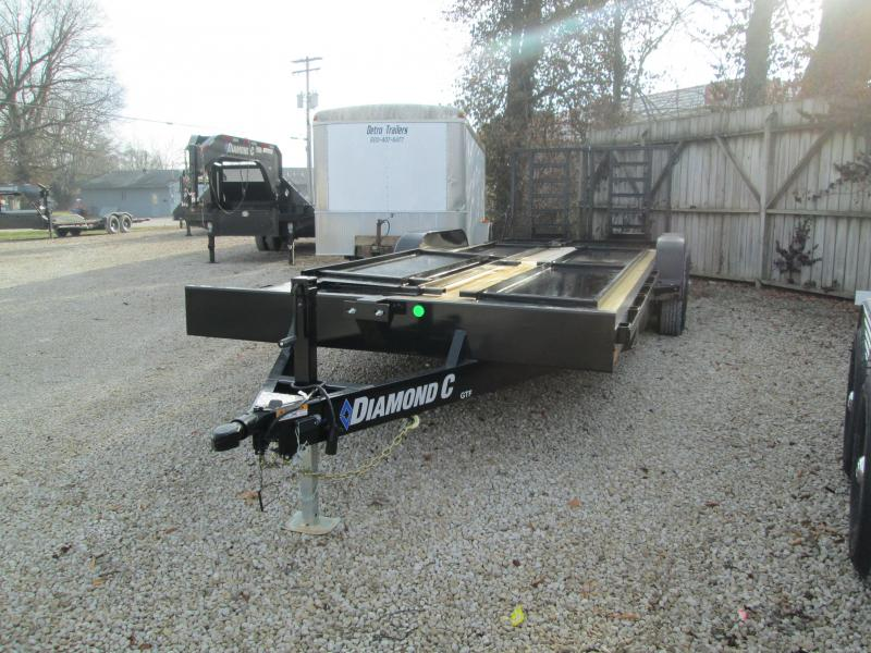 2021 22' 10K Diamond C GTF252 Equipment Trailer. 39855