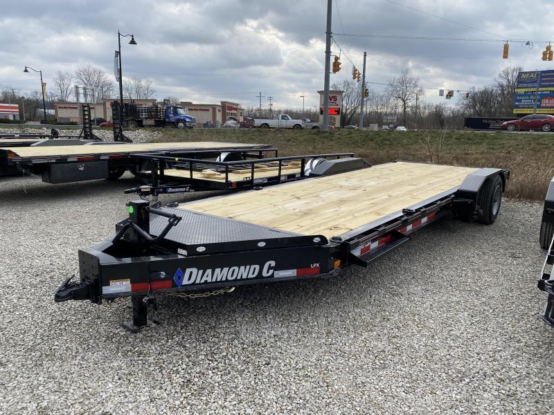2021 Diamond C Trailers LPX208 Equipment Trailer. 38986