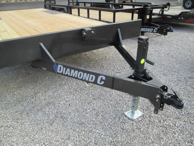 "2021 19'+3'x102"" 10K Diamond C GDD252 Equipment Trailer. 37650"