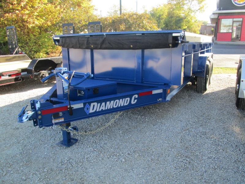 2021 14x82 14.9K Diamond C LPD207 Dump Trailer. 35569