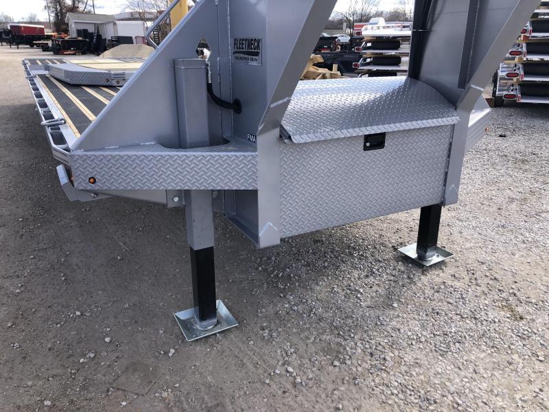 """2021 FMAX 210HDT 25K 20'+12'x102"""" Diamond C Engineered Beam Equipment Trailer. 40599"""