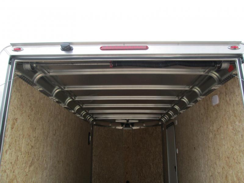 2021 7'x14'+3' 7K Legend DVN Enclosed Cargo Trailer. 17160