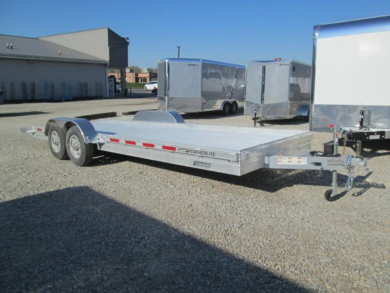 2021 22' 14k Featherlite Aluminum Car Trailer. 155218
