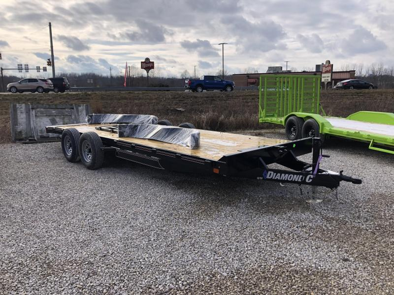 2021 20x82 10K Diamond C GTF252 Equipment Trailer. 39857