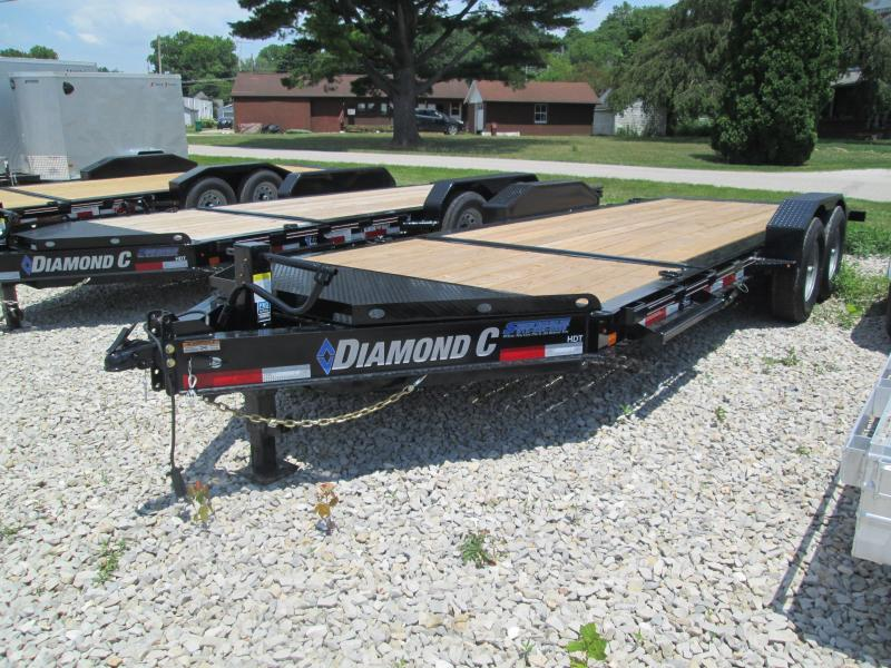 2020 16+4x82 14.9K Diamond C HDT207 Split Deck Tilt Equipment Trailer. 29753