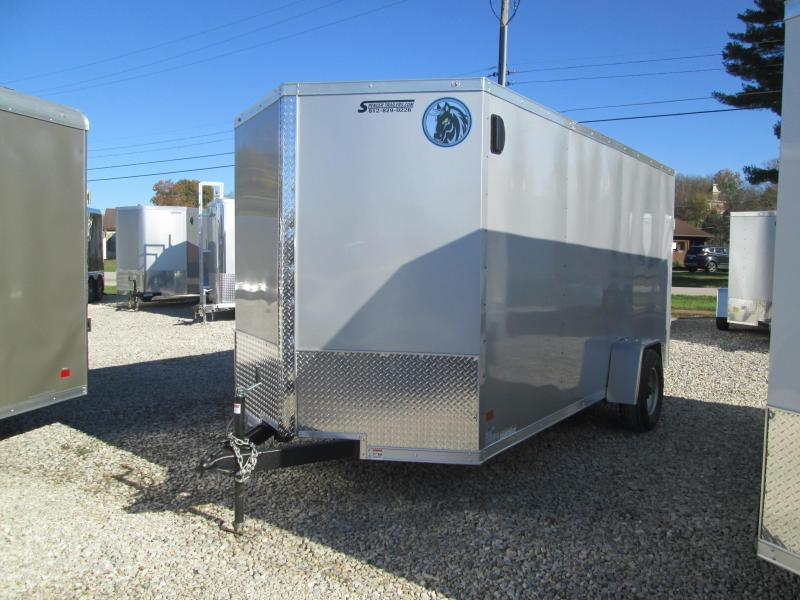 2021 6.5x14 5K Darkhorse Enclosed Cargo Trailer. 1565