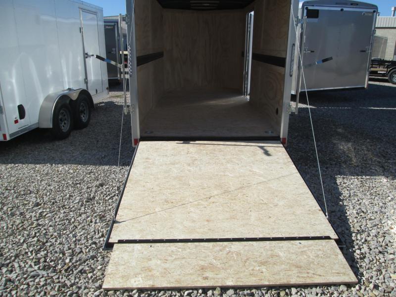 2021 6.5x14 5K Darkhorse Enclosed Cargo Trailer. 1565