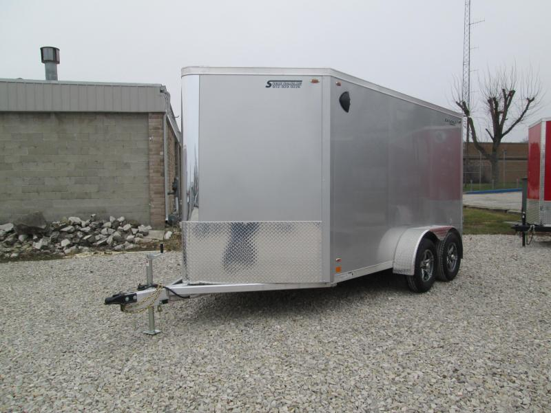 2021 12'+V-Nose 7K Legend FTV Enclosed Cargo Trailer. 17603