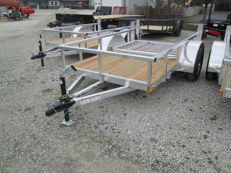 2021 5x8 Legend Aluminum Open Utility Trailer. 17613