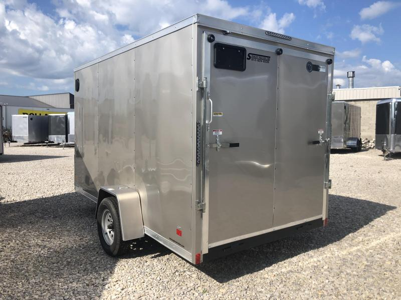 2021 6.5x12 Darkhorse Enclosed Cargo Trailer. 1101