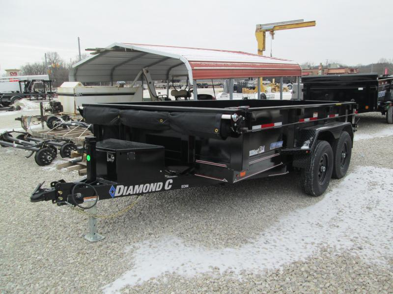 2021 12x82 10K Diamond C EDM252 Dump Trailer. 41066